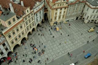 La piazza della Città Vecchia a Praga