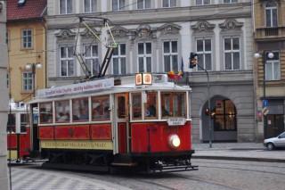 Il tram nostalgico 91 di Praga