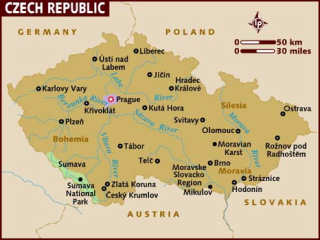 Noleggio auto a Praga