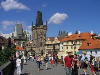 Le Torri del ponte a Praga